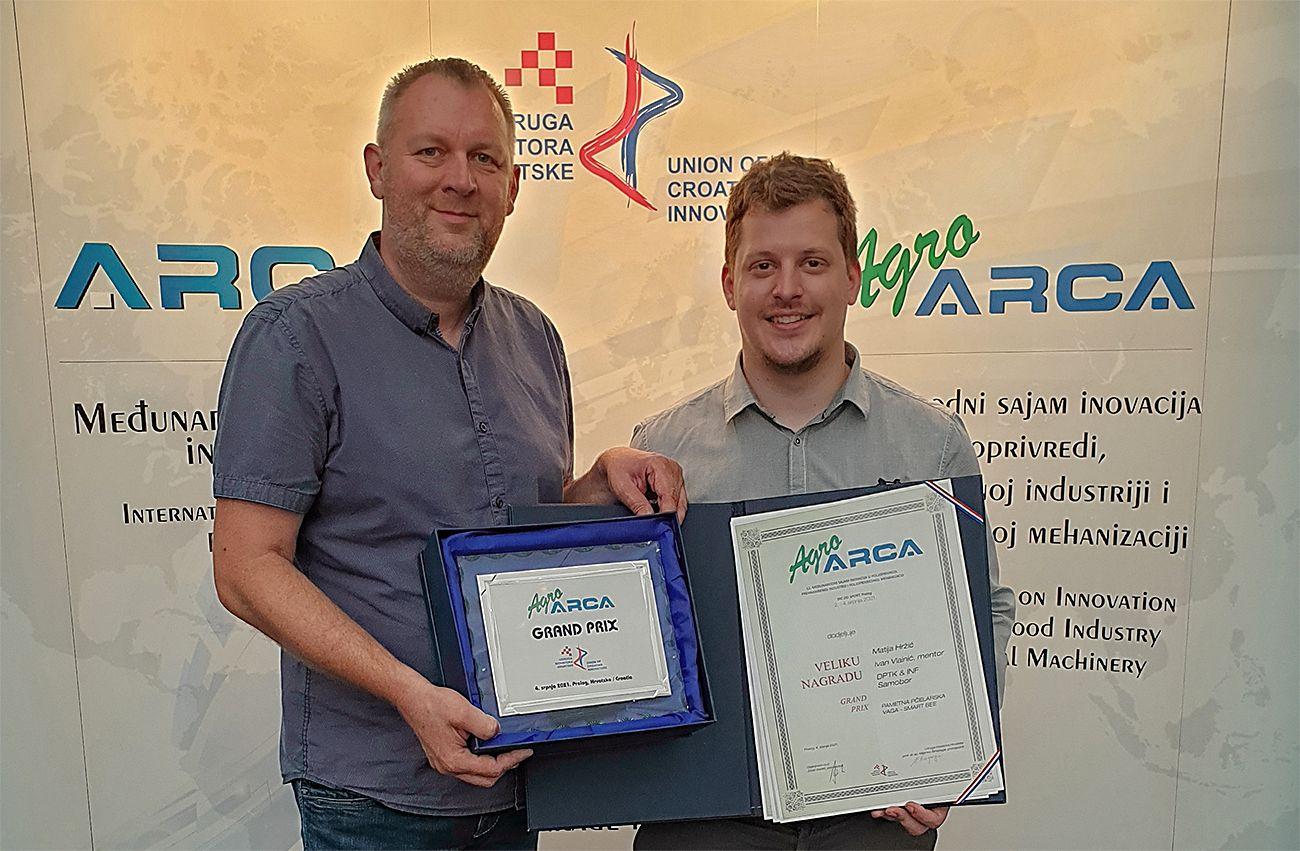 Inovator Matija Hržić osvojio međunarodni Grand Prix